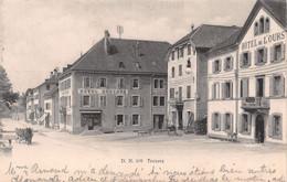 Travers Hôtel Henchoz - Hôtel De L'Ours - Val-de-Travers - NE Neuchatel