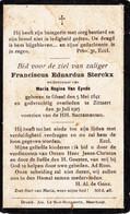 STERCKX Franciscus Eduardus X VAN EYNDE Maria ° Gheel 1841  + Meerhout Zittaert 1915 Zittaart - Religion & Esotericism
