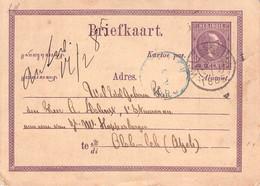 NED. INDIE / BRIEFKAART 5 CENT 1885  / QC30 - Netherlands Indies