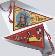Fanion Tissu Naours Somme Moulin Cité Souterraine Port 2,12 € - Other