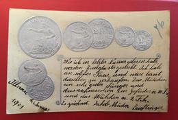 CPA SUISSE GAUFFREE PIÈCES DE MONNAIE - ZH Zurich