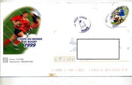 Pap  Rugby Cachet Poste - Prêts-à-poster:  Autres (1995-...)