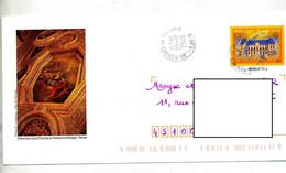 Pap  Bretagne Cachet Rennes Illustré Plafond - Prêts-à-poster:  Autres (1995-...)