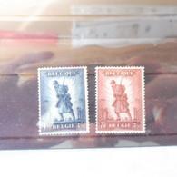 Belgique Belgie 351/352 Infanterie Mnh Neuf **  / Jean De Bast ( 1932 ) Perfect Parfait - Neufs