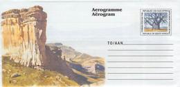 SOUTH AFRICA - AEROGRAMME MOUNTAIN  Unc //QD2 - Poste Aérienne
