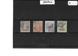 JAPON  -  TIMBRES  OBLITERES   -  N°   117 / 118 / 123 / 127 - Sonstige