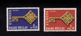 1215582955 1968 SCOTT 916 917 (XX)  POSTFRIS  MINT NEVER HINGED EINWANDFREI - EUROPA - Ungebraucht