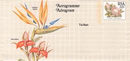 SOUTH AFRICA - AEROGRAMME FLOWER 35 CENT Unc //QD4 - Poste Aérienne