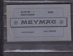 18 MEYMAC CARNET COMPLET DE 10 CARTES - Altri Comuni