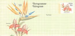SOUTH AFRICA - AEROGRAMME FLOWER 16 CENT Unc //QD7 - Poste Aérienne