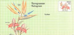 SOUTH AFRICA - AEROGRAMME FLOWER 18 CENT Unc //QD9 - Poste Aérienne