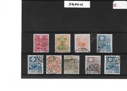 JAPON  -  TIMBRES  OBLITERES   -  N°   172 / 202 / 203 / 204 / 205 / 217 / 226 / 256 / - Sonstige