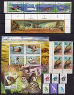 COLLECTION BIRDS: 18 STAMPS + 2 BLOCKS ** - Colecciones & Series