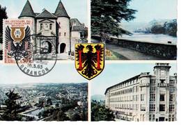 CM FRANCE 1962 ECOLE D'HORLOGERIE DE BESANCON - 1960-69