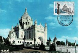 CM FRANCE 1960 BASILIQUE DE LISIEUX - 1960-69