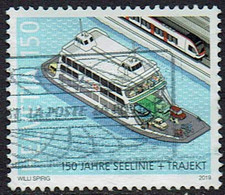Schweiz 2019, MiNr 2607, Gestempelt - Gebraucht