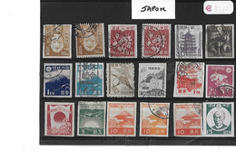 JAPON  -  TIMBRES  OBLITERES   -  LOT  De  18  TIMBRES - Sonstige