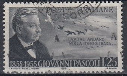 ITALY 956,used,yellow Spots Backside - 1946-60: Gebraucht