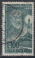 ITALY 957,used,yellow Spots Backside - 1946-60: Gebraucht