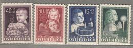 AUSTRIA OSTERREICH Children 1949 MNH (**) Mi 929-932 #21650 - 1945-60 Neufs