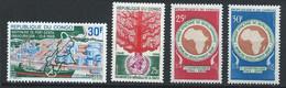 Congo-Brazzaville YT 225-228 Neuf Sans Charnière - XX - MNH - Mint/hinged