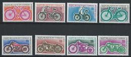 Congo-Brazzaville YT 229-236 Neuf Sans Charnière - XX - MNH Vélo - Mint/hinged