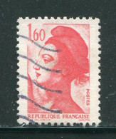 FRANCE- Y&T N°2187- Oblitéré - Oblitérés