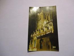 CP Saint Omer - La Nuit - La Cathédrale - Saint Omer