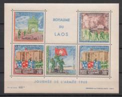 Laos - 1968 - Bloc Feuillet BF N°Yv. 41 - Journée De L'armée - Neuf Luxe ** / MNH / Postfrisch - Laos
