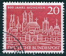 BRD - Mi 289 ⨀ (A) - 20Pf            800 Jahre München - Oblitérés
