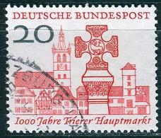 BRD - Mi 290 ⨀ (A) - 20Pf            1000 Jahre Trierer Hauptmarkt - Oblitérés