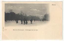 PARIS - Bois De Boulogne - Patinage Sur Le Lac - BF 139 - Deportes De Invierno