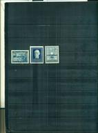 AUTRICHE VI SYNDACALISME OUVRIER -TRATE D'INDEPENDANCE-30 REPUBLIQUE 3 VAL NEUFS A PARTIR DE 0.75 EUROS - 1945-60 Neufs