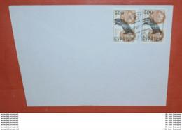 BURJATIEN Auf UDSSR 2x 6177 (Paar) Tiere Auf Schiffe (500 $ ???) -- 27.08.1991 ? -- (Brief) Cover (2 Foto)(37643) - Asia (Other)