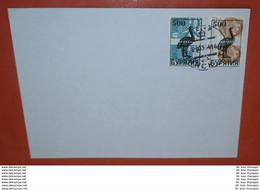 BURJATIEN Auf UDSSR 4633 6177 (je Paar) Tiere Auf Schiffe /Flugzeug (500 $ ?) -- 25.03.1991 ? -- (Brief)(2 Foto)(37644) - Asia (Other)