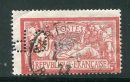 FRANCE- Perforé Y&T N°119- Oblitéré - Perforés