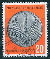 BRD - Mi 291 ⨀ (C) - 20Pf             10 Jahre Deutsche Mark - Oblitérés