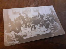 LOCKSTEDTER LAGER - 1909 - GRUESSE VON DER MITTAGSTAFEL DER OFFIZIERE Von CAESAR Nach HAMBURG - Guerra, Militari