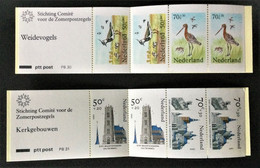 1984-1985 Zomerzegels PB 32**),+ PB 33**) - Booklets