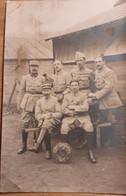 2 Cartes Photos Gendarmes 6e Legion De Gendarmerie  En  Novembre 1918  Ww1 Poilus 1914 14 18 - Guerra, Militari