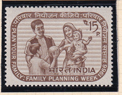 India: 1966   Family Planning   MH - Ungebraucht