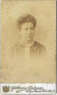 Portrait De  Femme ( 10.5X6.5 ) Phot:  GILLARD Et DELVAUX  --LIÉGE - Anciennes (Av. 1900)