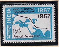 India: 1967   Centenary Of Indo-European Telegraph Service   MH - Ungebraucht