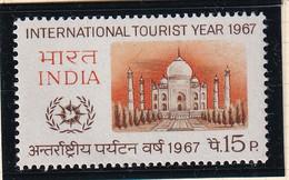 India: 1967   International Tourist Year   MH - Ungebraucht
