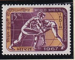 India: 1967   World Wrestling Championships, New Delhi   MH - Ungebraucht