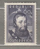 AUSTRIA OSTERREICH 1950 MNH (**) Mi 949 #21672 - 1945-60 Neufs