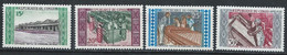 Congo-Brazzaville YT 246-249 Neuf Sans Charnière - XX - MNH - Mint/hinged