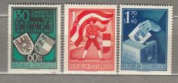 AUSTRIA OSTERREICH  1950 MNH (**) Mi 952-954 #21677 - 1945-60 Neufs