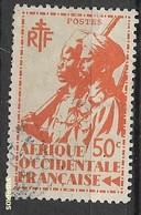AOF   1945 Soldati Coloniali Ø - Oblitérés