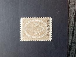 BRITISH COLUMBIA Overprint Two Cent 2 Mint No Gum - Neufs